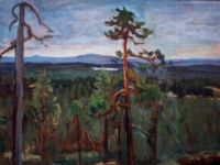 Erämaa (Ruka, Kuusamo) 50x65cm